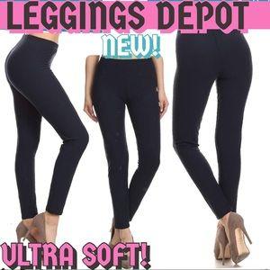 3e37a8a48d306 Leggings Depot Pants | Navy Super Soft Leggings Size 012 | Poshmark